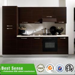 Beste Richtungs-Qualitäts-Walnuss-festes Holz-Walnuss-Küche-Schränke