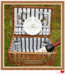 El almacenamiento de comida de picnic sauce cestería la cesta de frutas