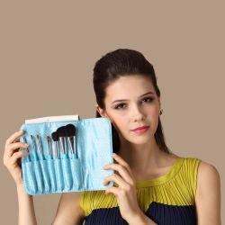 7pcs cabello sintético maquillaje cosmético Cepillo para regalo promocional