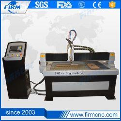 1530 lámina metálica llama plasma CNC Máquina cortadora de Plasma de corte