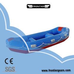2,8 m 4 Pessoa Rafting barco inflável Self-Bailing PVC