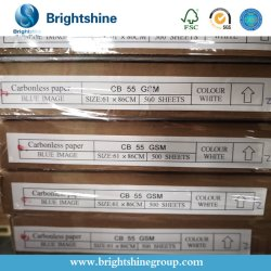 3 Falte kohlenstofffreies NCR-Papier