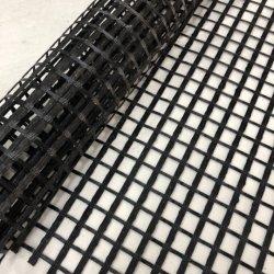 precio de fábrica de geomalla Biaxial Uniaxial/poliéster con recubrimiento de PVC