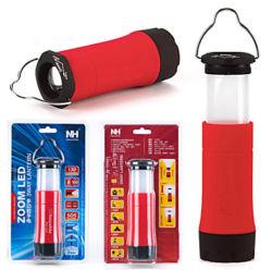 Mini Portable LED CREE R2 Zoomable Clignotant LED lanternes de camping en plein air tente lampe de feu avec 3 modes de travail