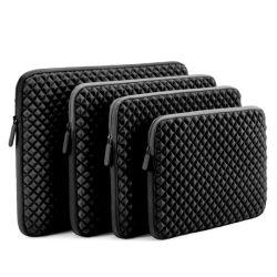 Sacchetto nero del manicotto del computer portatile della cassa del calcolatore dello zaino del sacchetto delle borse del neoprene (FRT1-158)