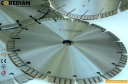 Lâmina de corte de concreto soldadas a laser/Turbo Diamond a lâmina da serra/Disco de Corte/ferramentas de diamante/Toolings