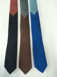 Triângulo de fundo acetinado de tecido de seda de Design laços de logotipo