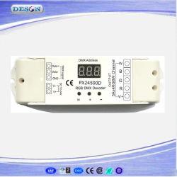 5A*4 канала с постоянным напряжением светодиодная подсветка RGB DMX драйвера