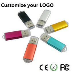Metal modelo Crystal Flash Memory Stick USB 2.0 Driv