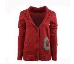 Loisirs hiver chaud femmes Chandail rouge