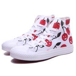 Les hommes et femmes Hitops High-Top toile Chaussures à lacets occasionnel Sneaker