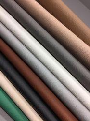 Mobilier en cuir en PVC de PU de vinyle en simili-cuir synthétique Rexine pour meubles canapé