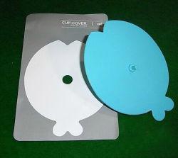 Coperchio di plastica del coperchio della tazza della ceramica