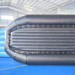 PVC上塗を施してある防水膨脹可能な防水シートファブリック材料
