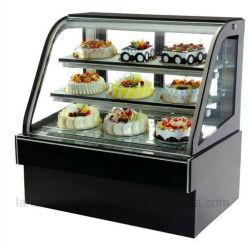 Réfrigérateur de la restauration commerciale de l'équipement de refroidissement du ventilateur du refroidisseur d'Gâteau vitrine à gâteaux