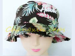 Protezioni della stampa del cappello della benna del ricamo di modo 3D con la flora di Hawiee