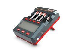 10612500-AA/AAA NiMH Cargador de funciones múltiples y Analyzer