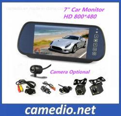 """Systeem 7 van het parkeren """" LCD Mirror+ Rearview Camera van de Visie van de Nacht"""