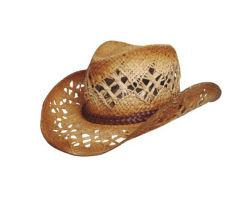 تصميم جديد عالي الجودة من قبعة القش الترويجية الأنيقة