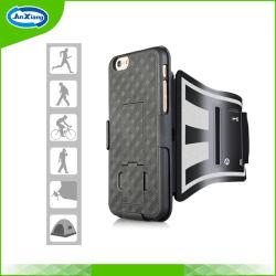 Deporte al aire libre Teléfono Brazalete Lycra caso para el iPhone 6s