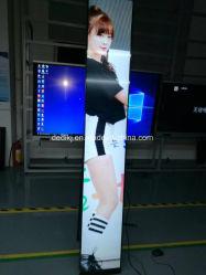 ultra breit ausgedehnter Stab 86inch, der der Media Player-WiFi Monitor Netz-Digitalsignage-Multimedia-LED farbenreiche LCD-Anzeigetafel bekanntmacht