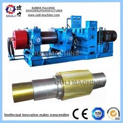 工場は2つのロールゴム製クラッカーの製造所機械、治されたゴム製粉砕機を指示する