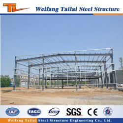 Сегменте панельного домостроения в металлической раме пролить хранения Сборные стальные конструкции склад Constrction здание
