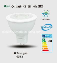 Ampoule de LED à gradation MR16/Jcdr-Sbl
