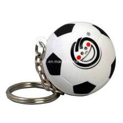 Espuma de poliuretano personalizadas con llavero de regalo de promoción de fútbol