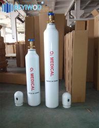 Cylindre d'oxygène bouteille de gaz à la norme ISO9809 Approbation
