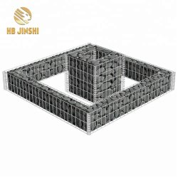 Hot-Dipped Rock Galvanizado Alambre Soldado Gabion Box Muro