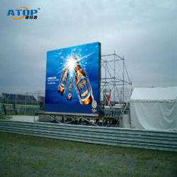 P РП3.91 полноцветный светодиодный экран крытый и открытый дисплей высокой четкости в аренду этапе светодиодный дисплей
