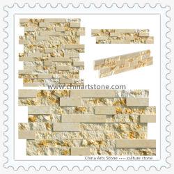 A decoração de paredes de pedra de cultura em mármore de Materiais para revestimento de paredes