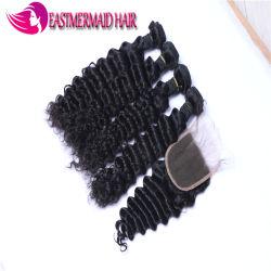Best Verkopende Deep Wave Maleise Haar Weven 100% Menselijk Haar