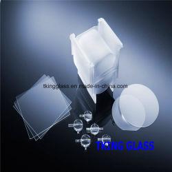 8pouce UV Plaque de verre de quartz silice fondue Galette de quartz