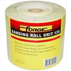 Rullo di smeriglitatura del panno abrasivo del rullo del corindone della granulosità del bene durevole 60 per la pittura
