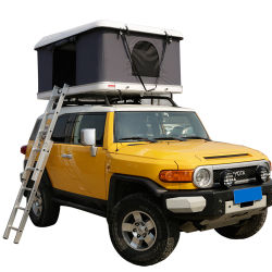 Outdoor Camping tente-roulotte Tente sur le toit avec l'annexe