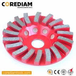 125mm Diamond Turbo Cup Rad/Schleiftasse/Diamant-Werkzeug