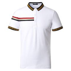 Camicia di polo degli uomini dell'OEM di disegno di modo del cotone di alta qualità