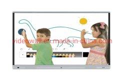 """85 """" LCD TVの台紙のモニタの対話型のwhiteboardのスマートなボード"""