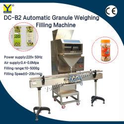 DC-B2&zx-D ماكينة تعبئة مسحوق الجرانول الكهربائي وزن / شبه تلقائية ماكينة تجميع الجسيمات مع الناقل