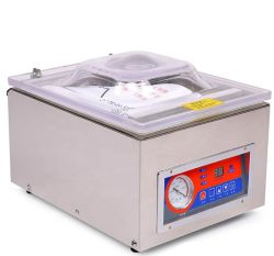 Duoqi DZ-260c 싱글 챔버 진공 씰러 포장 기계(의류 식품 음료 상품 화학