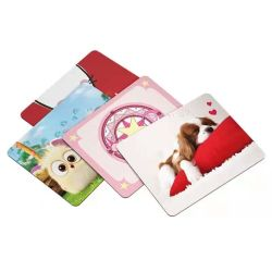 Animal lindo mouse pad de imagen a Color de borde de bloqueo precisa de Tela Impermeable inferior antideslizante