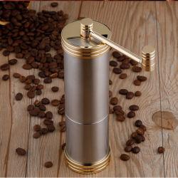 In werking gestelde Koffiemolen van uitstekende kwaliteit van de Braam van het Roestvrij staal de KegelHand
