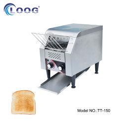 Commercial Hotel pequeno-almoço Gold Sanduíche de pão Baker Forno de cozimento 110V/220V esteira elétrica Fatia de Pão de Aço Inoxidável torradeira para abertura de padaria