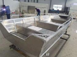 낚시 보트 / 15ft 공장 제작 완전 용접 낚시 보트 / 파워 보트 / 스피드 보트 / 모터 보트/선실 보트/알루미늄 요트