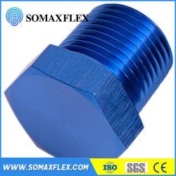 سدادة سداسية مجوفة سداسية الرأس متشكلة بالضغط العالي متشكلة من خيط ذكر أو سدادة سداسية من الفولاذ الكربوني