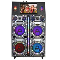 Gran potencia de 12 pulgadas de parte de altavoces portátiles Carrito Karaoke
