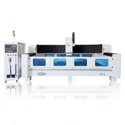 بالوعة في قمة سطح الموازنة بالجرانيت والرخام متعدد الوظائف لقطع آلة تلميع الصقل CNC جهاز التوجيه Linear ATC Stone Carving Machine