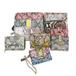Таким образом несколько цветных Snakeskin схемы животных Professional OEM-PU кожа женщин Wallet дамы Wallet